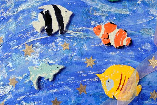Yurinoko魚のウエルカムボード