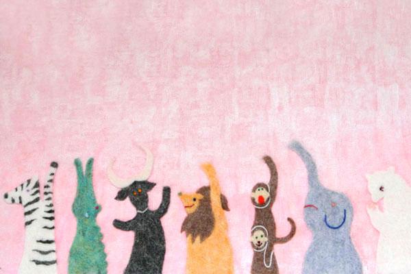 立体イラスト,立体イラストレーター,フェルト作家,フェルト作品,フェルトイラスト,刺繍イラスト,刺繍作家,絵本,雑誌,広告,カタログ広告,書籍装画,アニメーション,動画,ポスター,店舗ディスプレイ