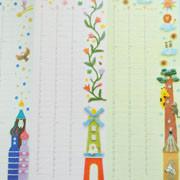 名古屋銀行の企業カレンダー・フェルト作家Yurinokoの動物と建物のイラスト