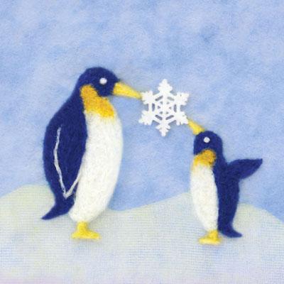 ペンギン・フェルト作家Yurinokoのイラスト